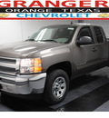 chevrolet silverado 1500 2012 brown pickup truck ls 8 cylinders automatic with overdrive 77630