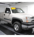 chevrolet silverado 2500hd 2004 gasoline 8 cylinders rear wheel drive not specified 77630