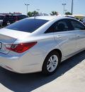 hyundai sonata 2013 silver sedan gls gasoline 4 cylinders front wheel drive 6 speed automatic 76087