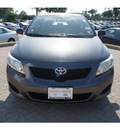 toyota corolla 2009 dk  gray sedan base gasoline 4 cylinders front wheel drive automatic 78006