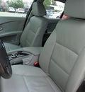 bmw 5 series 2007 silver sedan 525i gasoline 6 cylinders rear wheel drive automatic 78577