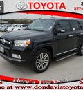 toyota 4runner 2011 black suv limited gasoline 6 cylinders 2 wheel drive automatic 76011