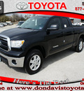 toyota tundra 2011 black grade gasoline 8 cylinders 2 wheel drive automatic 76011