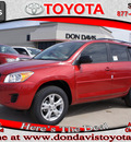 toyota rav4 2012 red suv gasoline 4 cylinders 2 wheel drive automatic 76011