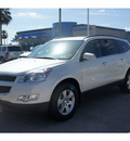 chevrolet traverse 2012 white lt gasoline 6 cylinders front wheel drive shiftable automatic 77566