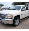 chevrolet silverado 1500 2012 white lt flex fuel 8 cylinders 2 wheel drive automatic with overdrive 77566