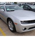chevrolet camaro 2012 silver coupe lt gasoline 6 cylinders rear wheel drive automatic with overdrive 77566