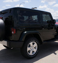 jeep wrangler 2011 green suv sahara gasoline 6 cylinders 4 wheel drive automatic with overdrive 76011