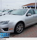 ford fusion 2012 silver sedan se gasoline 4 cylinders front wheel drive shiftable automatic 75062