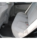 kia spectra 2007 black sedan gasoline 4 cylinders front wheel drive automatic 77008