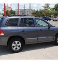 hyundai santa fe 2005 gray suv gls gasoline 6 cylinders front wheel drive automatic 77008