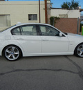bmw 335i 2009 white sedan gasoline 6 cylinders rear wheel drive automatic 79925