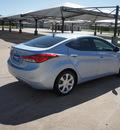hyundai elantra 2012 blue sedan limited gasoline 4 cylinders front wheel drive automatic 76049