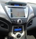hyundai elantra 2013 silver sedan gasoline 4 cylinders front wheel drive automatic 76049