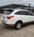 hyundai veracruz 2012 white wagon gls gasoline 6 cylinders front wheel drive 6 speed automatic 76049