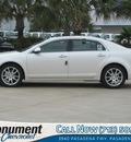 chevrolet malibu 2012 white sedan ltz gasoline 6 cylinders front wheel drive 6 speed automatic 77503