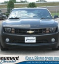 chevrolet camaro 2012 black coupe lt gasoline 6 cylinders rear wheel drive 6 speed automatic 77503