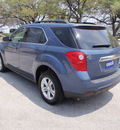 chevrolet equinox 2011 blue lt gasoline 4 cylinders front wheel drive automatic 78028