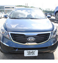 kia sportage 2012 dk  blue suv lx gasoline 4 cylinders front wheel drive 6 speed automatic 77539