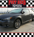 scion tc 2012 gray coupe tc gasoline 4 cylinders front wheel drive standard 77469
