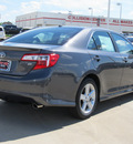 toyota camry 2012 gray sedan se gasoline 4 cylinders front wheel drive automatic with overdrive 77469