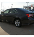 toyota camry 2012 gray sedan se gasoline 4 cylinders front wheel drive automatic 77469