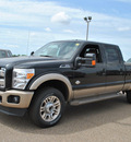 ford f 250 super duty 2012 black lariat biodiesel 8 cylinders 4 wheel drive automatic 78580