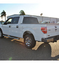 ford f 150 2012 white xlt flex fuel 8 cylinders 2 wheel drive automatic 78580