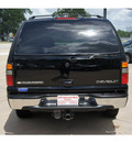 chevrolet suburban 2004 black suv 1500 lt flex fuel 8 cylinders rear wheel drive automatic 77515