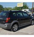 pontiac vibe 2008 black hatchback gasoline 4 cylinders front wheel drive automatic 77515