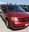 dodge grand caravan 2008 dk  red van se gasoline 6 cylinders front wheel drive automatic 75034