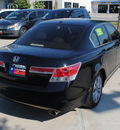 honda accord 2011 black sedan ex l gasoline 4 cylinders front wheel drive automatic 75034