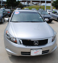 honda accord 2009 silver sedan ex l gasoline 4 cylinders front wheel drive automatic 75034
