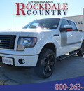 ford f 150 2012 white fx4 gasoline 6 cylinders 4 wheel drive automatic 76567