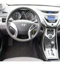 hyundai elantra 2011 blue sedan gasoline 4 cylinders front wheel drive automatic 78550