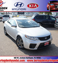 kia forte koup 2012 silver coupe ex gasoline 4 cylinders front wheel drive automatic 78550