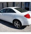 pontiac g6 2009 white sedan gt gasoline 6 cylinders front wheel drive automatic 78744