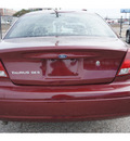 ford taurus 2007 maroon sedan se gasoline 6 cylinders front wheel drive automatic 77087