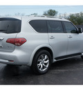 infiniti qx56 2011 silver suv gasoline 8 cylinders 2 wheel drive automatic 77074