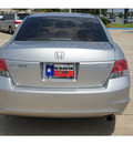 honda accord 2010 silver sedan lx p gasoline 4 cylinders front wheel drive automatic 77034