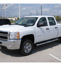 chevrolet silverado 2500 2012 white work truck gasoline 8 cylinders 2 wheel drive 6 speed automatic 78224