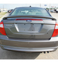 ford fusion 2012 gray sedan se gasoline 4 cylinders front wheel drive automatic 77539