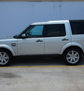 land rover lr4 2012 silver suv gasoline 8 cylinders 4 wheel drive 6 speed automatic 77090
