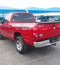 dodge ram pickup 1500 2008 red pickup truck sxt gasoline 8 cylinders rear wheel drive automatic 76234