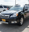subaru outback 2011 black wagon 3 6r limited gasoline 6 cylinders all whee drive shiftable automatic 75070