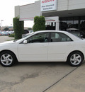 mazda mazda6 2003 white sedan i gasoline 4 cylinders dohc front wheel drive shiftable automatic 77477