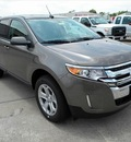 ford edge 2013 dk  gray suv sel gasoline 6 cylinders front wheel drive 6 speed automatic 77026