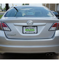 mazda mazda6 2012 silver sedan i sport gasoline 4 cylinders front wheel drive automatic 78757