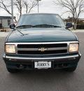 chevrolet blazer 1997 green suv ls gasoline v6 4 wheel drive automatic 76087