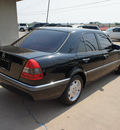 mercedes benz c class 1995 black sedan c220 gasoline 4 cylinders rear wheel drive automatic with overdrive 76108